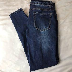 Women's Blue Savvy Stretch Skinny Jeans 11 30